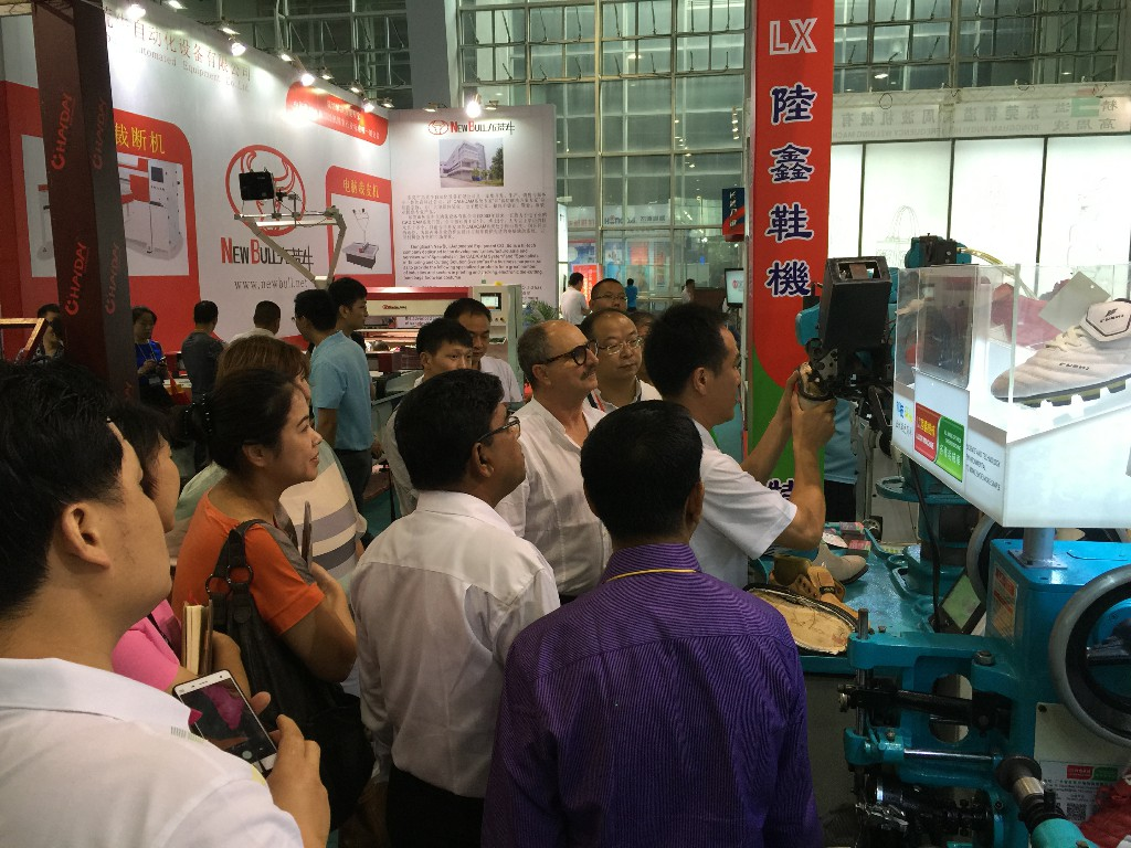 THE 28TH GUANGZHOU SHOE MACHINERY EXHIBITION ENDED, AND DGSF MACHINERY GROUP FINISHED THE EXHIBITION PERFECTLY!